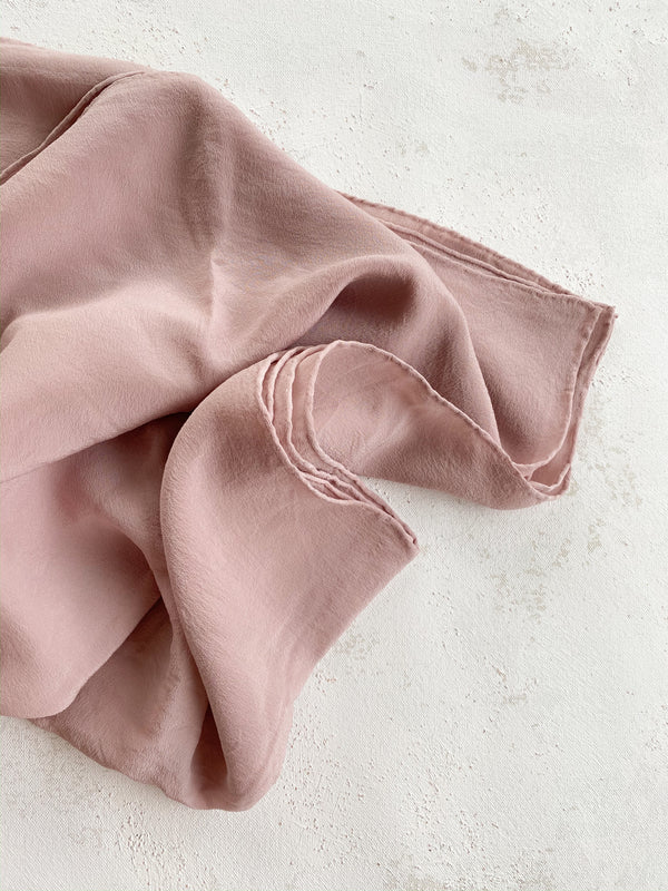 Silk Blush Scarf 006