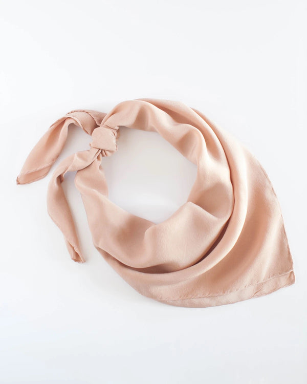 Peach Silk Scarf 308