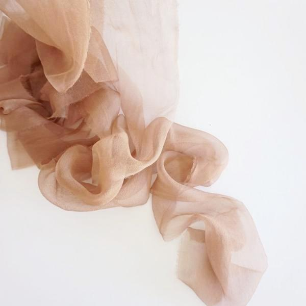Gossamer Rose Gold Ribbon