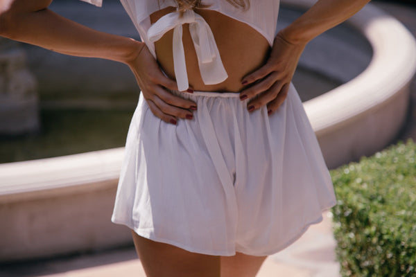 The Tie Playsuit