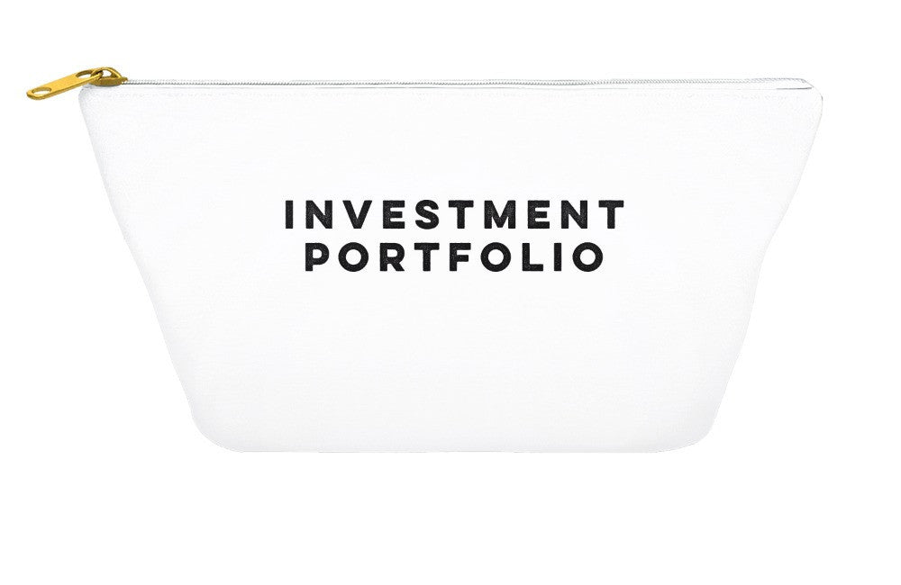 Investment Portfolio Makeup Pouch