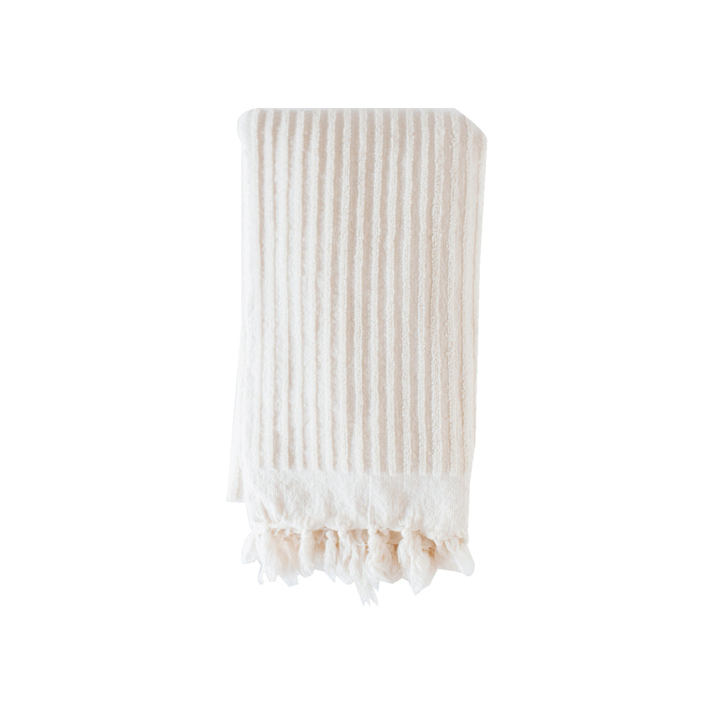 Cream Terry Bath Towel