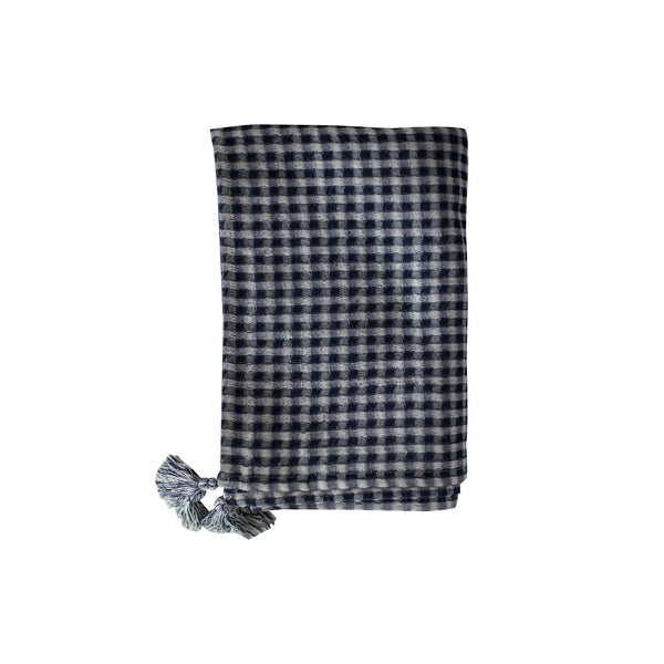 gingham tablecloth