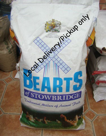 Bearts Poultry, Duck & Game Holders Pellets 20kg