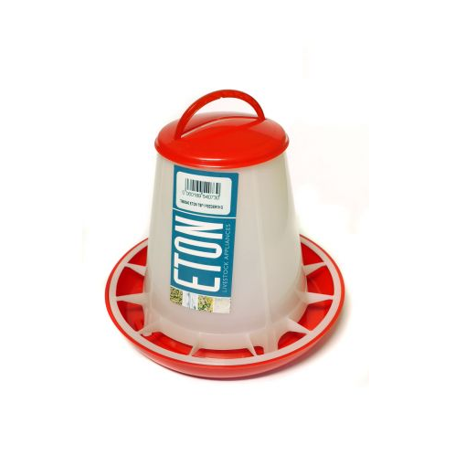 Eton TS Red & White Feeders