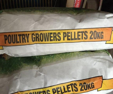 Bearts Poultry Growers Pellets 20kg