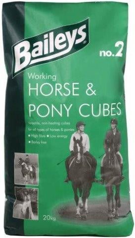 Baileys No. 2 Working Horse & Pony Cubes 20kg