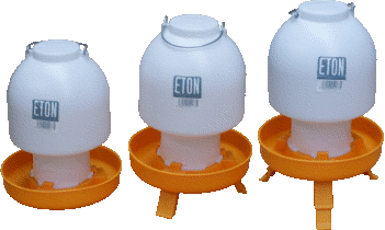 Eton Orange & White Drinkers