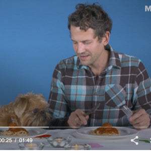 Stacy Teaches Dogs and their Humans to Eat off the Same Plate!