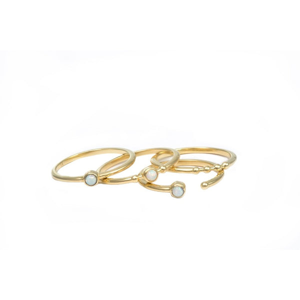 Portofino ring set - TINA REDDY