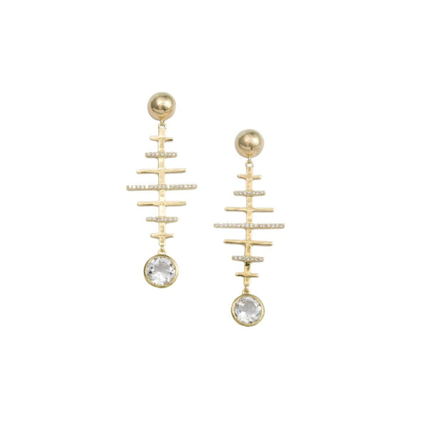 Siena Earrings - TINA REDDY