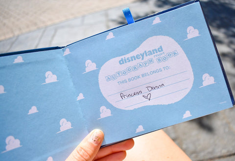 Pixar Autograph Book for Disneyland