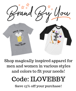 Save 15% off now at Brand By You, a magically inspired apparel line for men and women with styles and colors to fit your exact needs