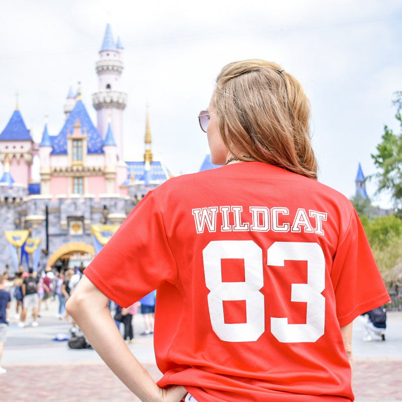 Custom Number High School Musical Wildcat - Unisex Baseball Jersey