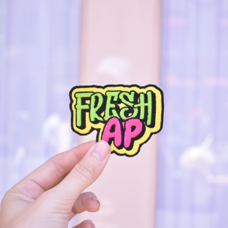 "Main Street Fresh ""Fresh AP"" - Embroidered Patch"