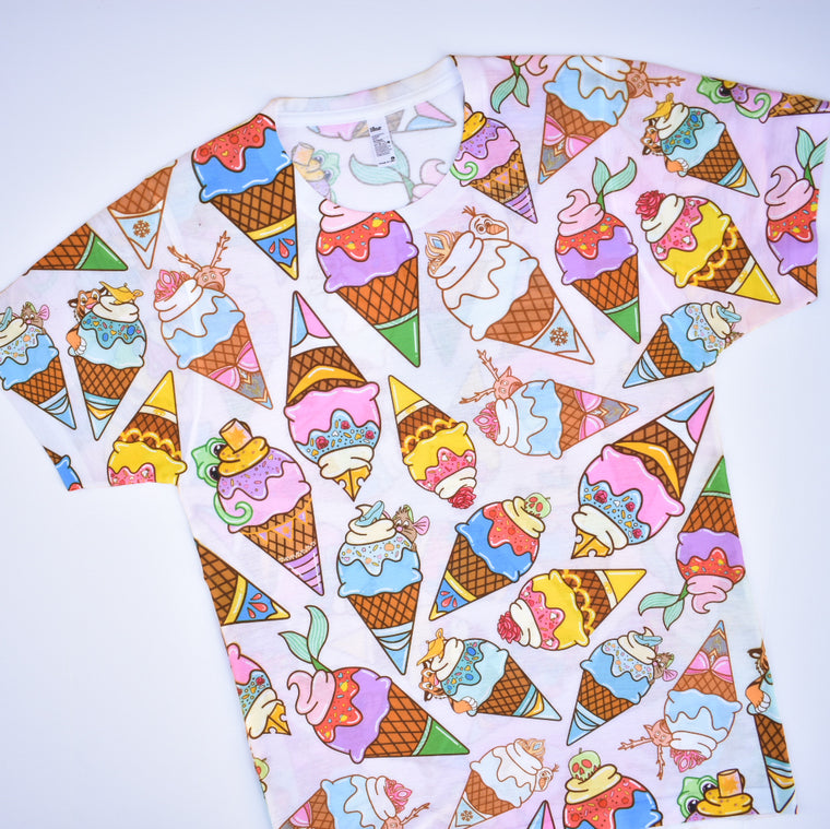 Princess Ice Cream - Unisex Sublimated Tee