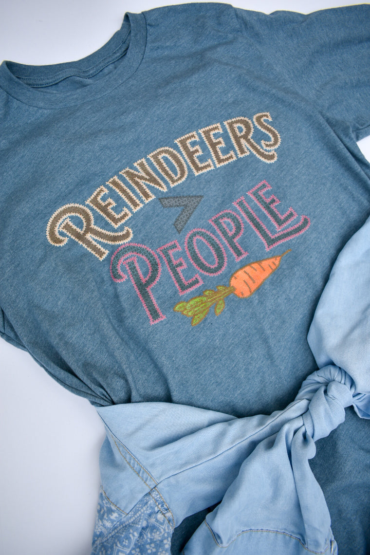 Reindeers > People - Unisex Long Sleeve