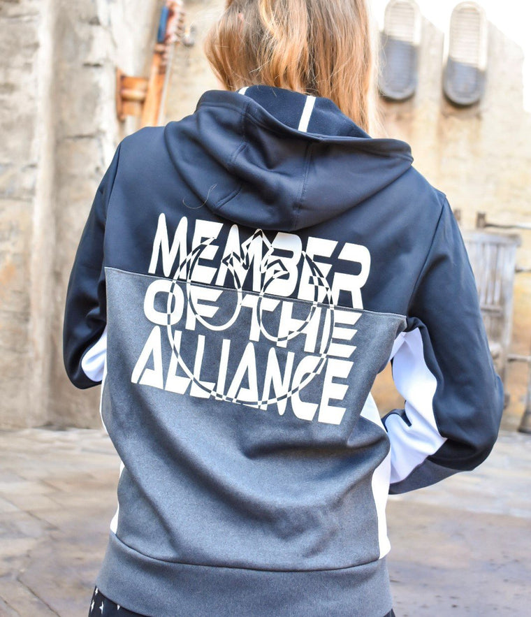 Member of the Alliance - Unisex Colorblock Jacket