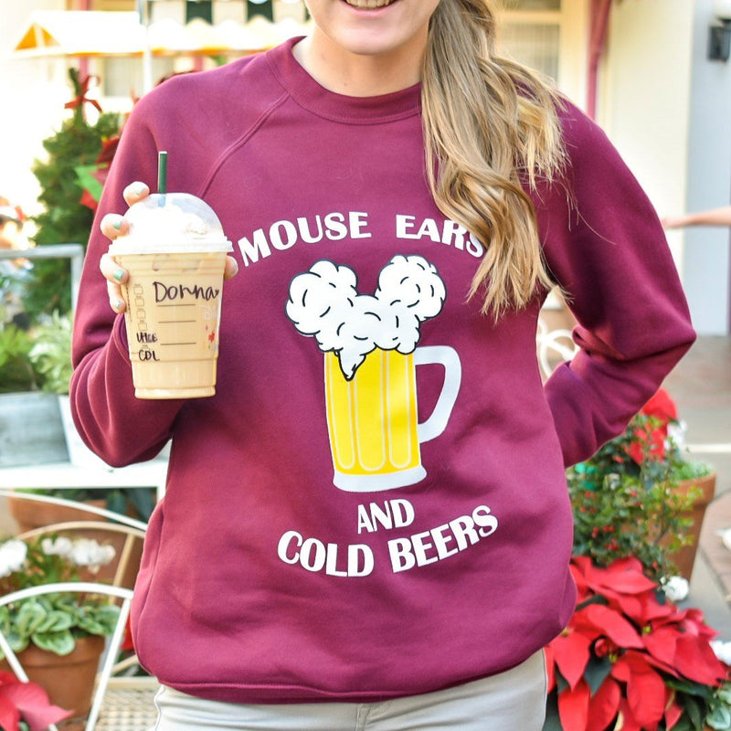 Sometimes you have to take a break from the cold beers and go with an iced coffee instead! Either, Christmas would not be complete without either, right?