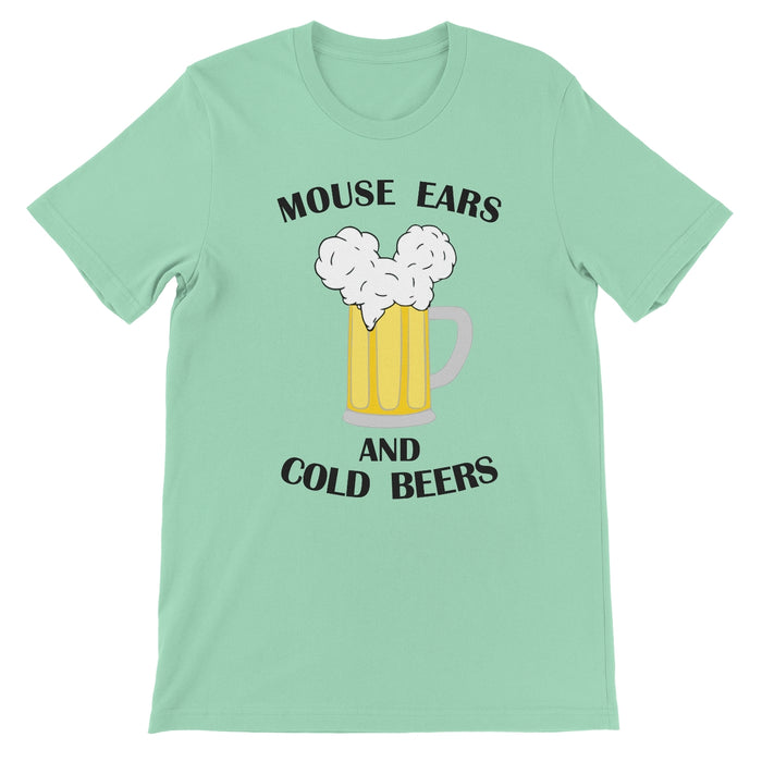 Mouse Ears and Cold Beers - Crew Neck