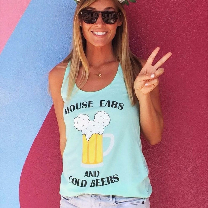 Mouse Ears and Cold Beers tank