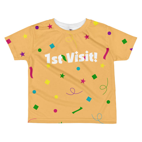1st Visit - Toddler Sublimated Crew