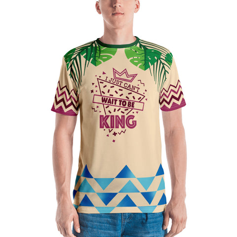 Can't Wait to be King - Unisex Sublimated Tee