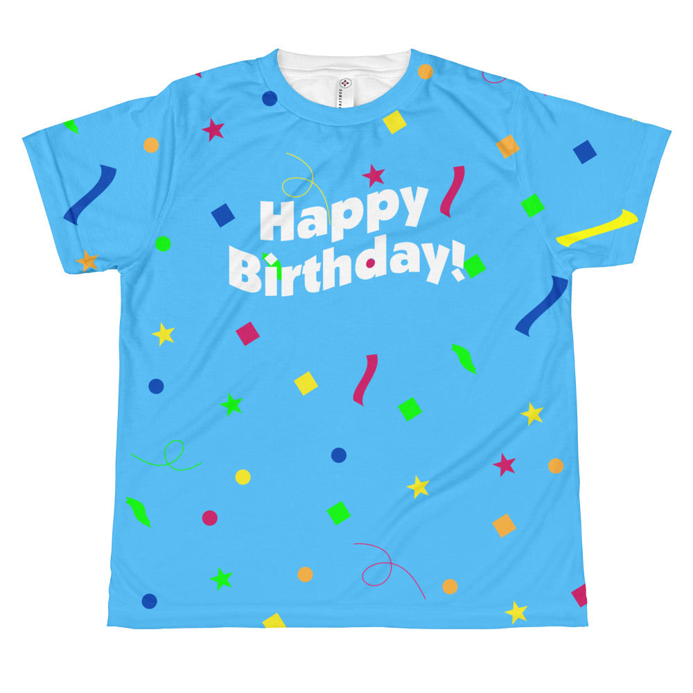 Happy Birthday - Youth Sublimated Crew