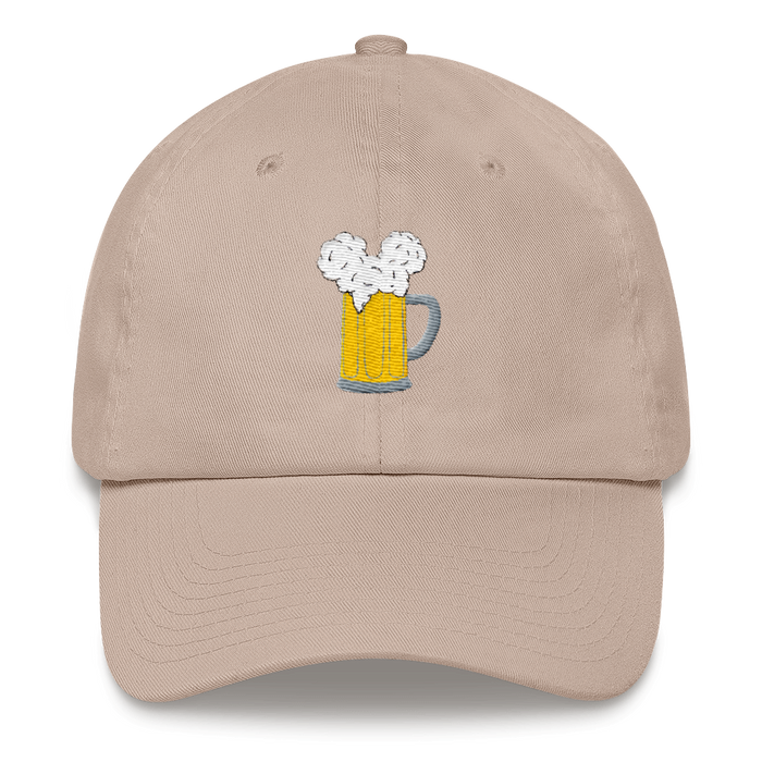 Are you looking for a more subtle Disney aesthetic? Brand By You is here to help with this dad hat with the best design for any beer and mouse lover. This beer stein has a cute mouse ear type foam on the top to perfectly compliment your love for beer and magic.