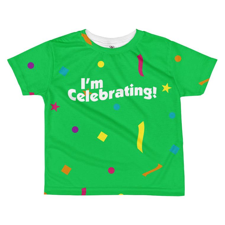 I'm Celebrating - Toddler Sublimated Crew