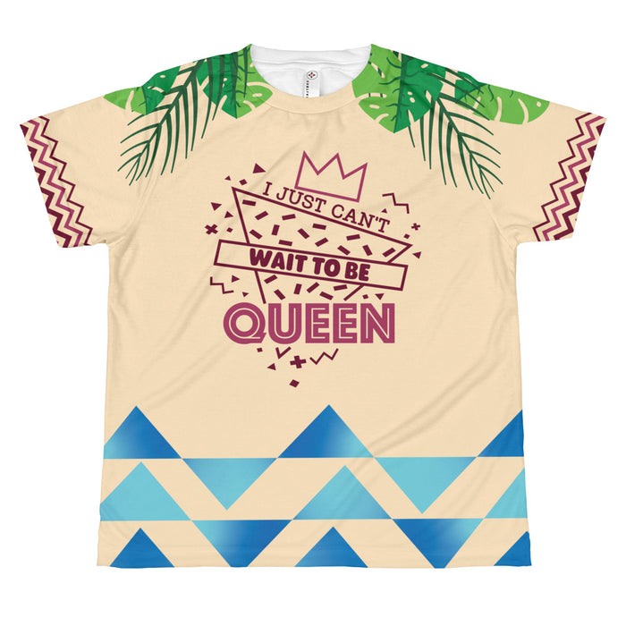 Can't Wait to be Queen - Youth Sublimated Tee