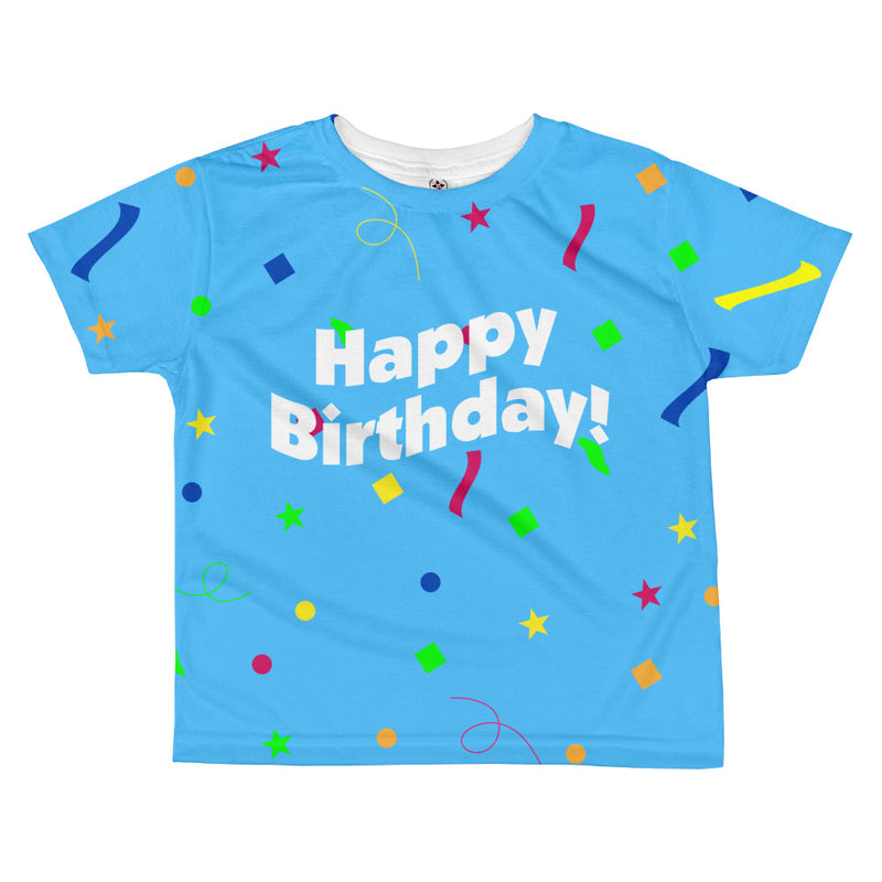 Happy Birthday - Toddler Sublimated Crew