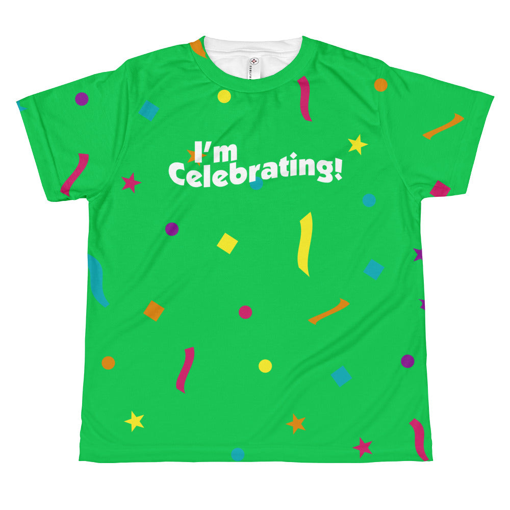 I'm Celebrating - Youth Sublimated Crew
