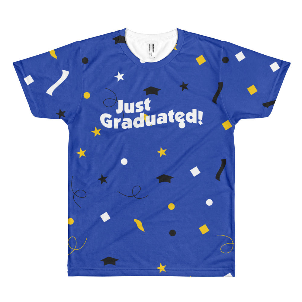 Just Graduated - Unisex Sublimated Crew