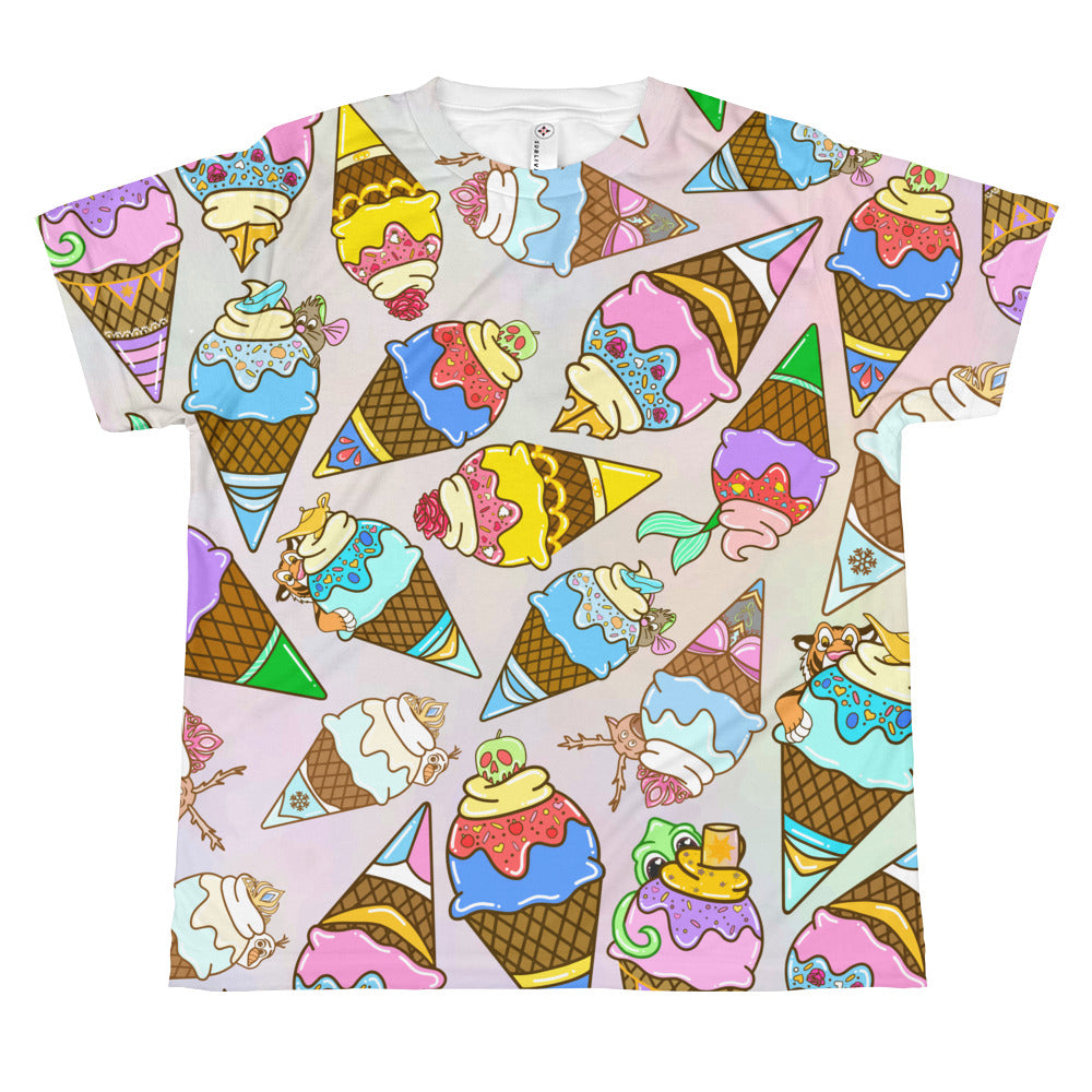 Princess Ice Cream - Youth Sublimated Tee