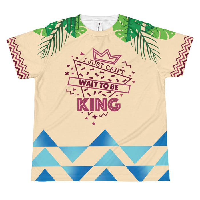 Can't Wait to be King - Youth Sublimated Tee