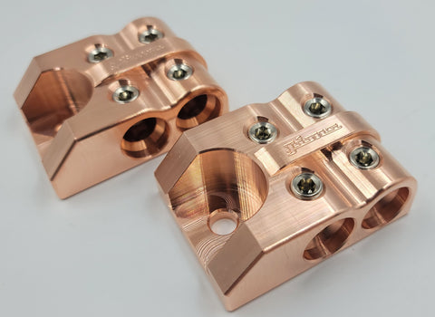 Bolt Down Type 1/0 Battery Terminals Copper