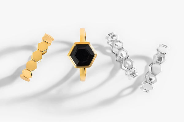 Honeycomb Rings