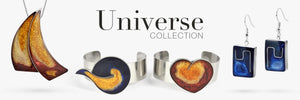 Magpie's Loot Universe Collection of Handmade Resin Jewellery Banner