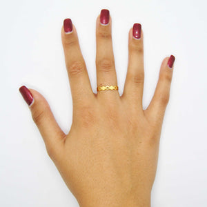 La collezione di a nido d'ape del bottino di Magpie Stacking Rings