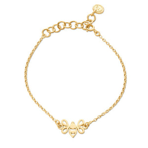 Gold Tiny Bee Bracelet