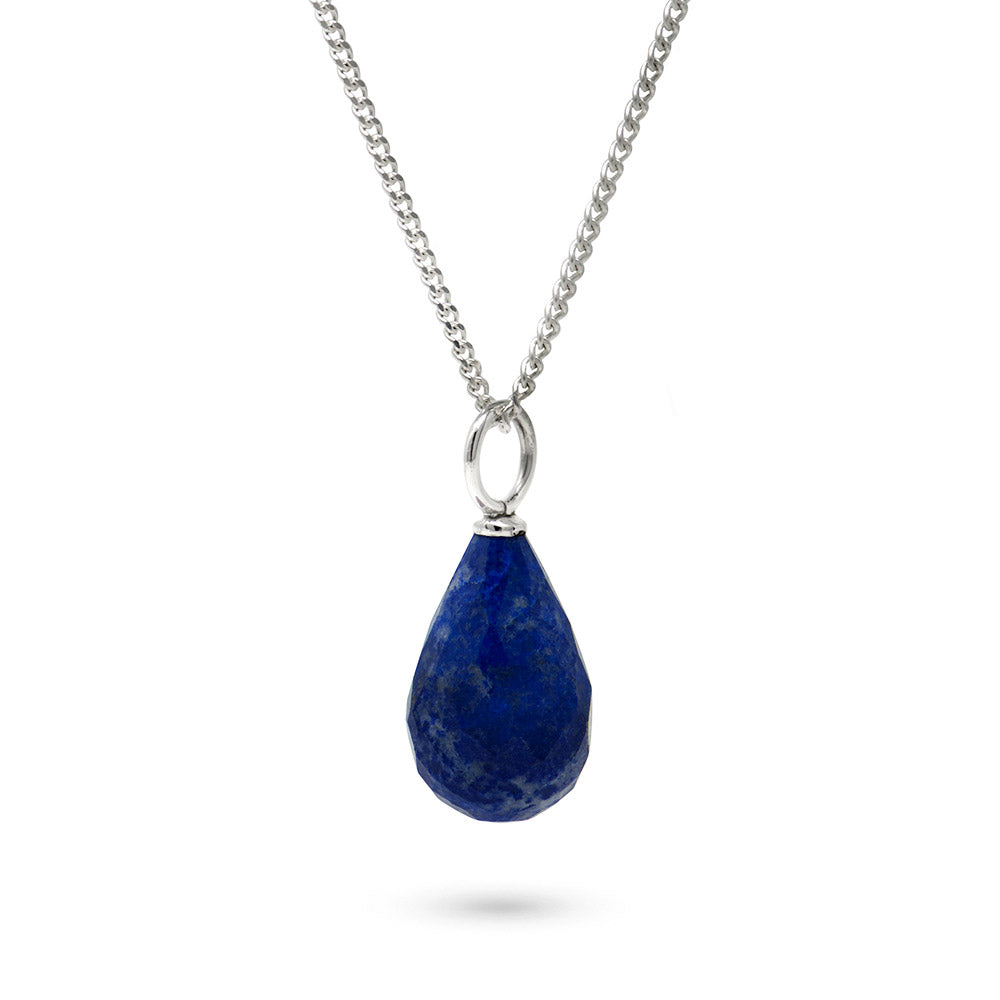 Lapis Lazuli September Birthstone Pendant Necklace