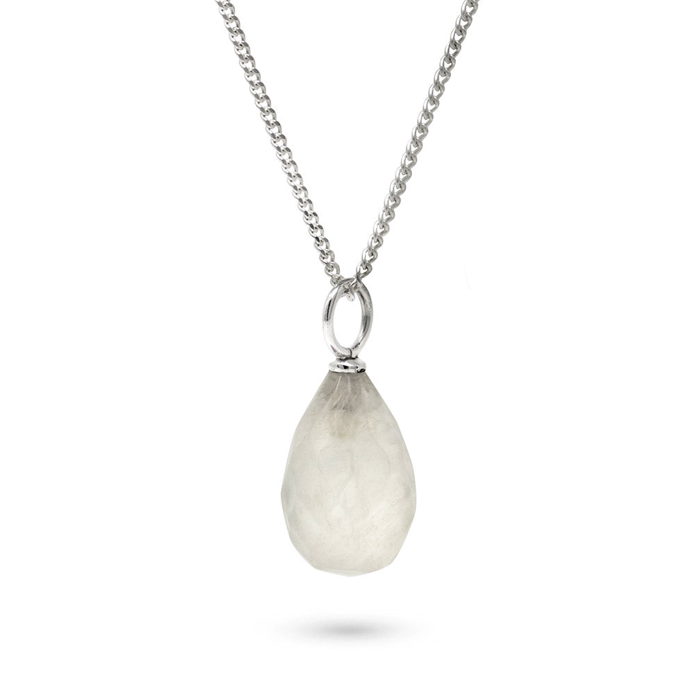 Moonstone June Birthstone Pendant Necklace