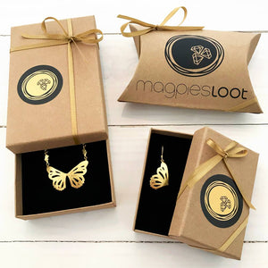 Magpie's Loot Butterfly Collection Packaging
