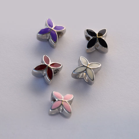 Butterfly Flower Charms