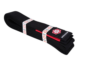 Kanji Premium Belt 'Original' - Black/Red