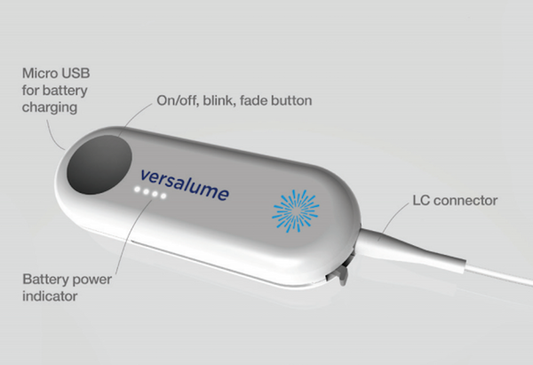 Versalume Single Color Wearable Module Product Diagram