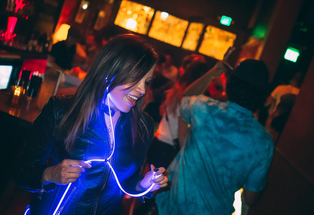 Glow Laser Headphones