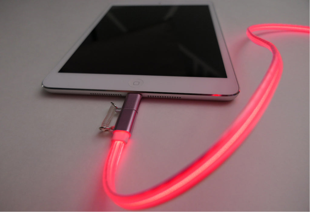 Laser Light Charge & Sync Cable - Deep Discount for Thanksgiving Day!