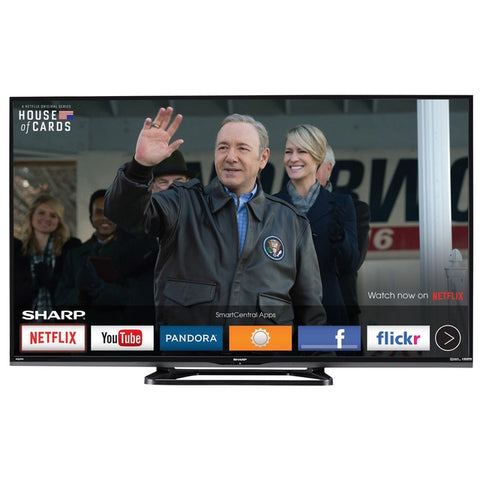 SHARP LC-43LE653U 43 Inch 1080P 60 HZ  LED SMART TV